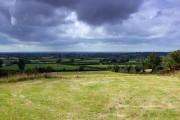 Farmland west of Callow Hill