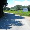 Access road to Carno Wind Farm