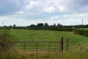 Farmland west of Grittenham