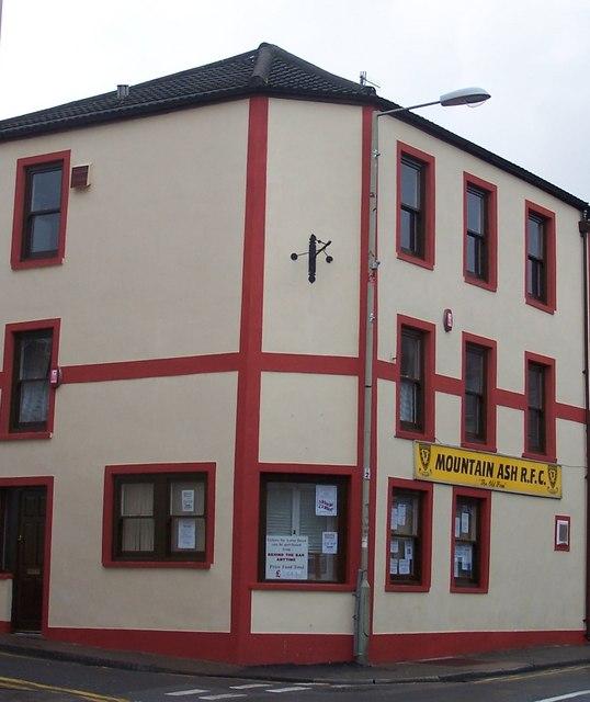 Mountain Ash RFC Clubhouse