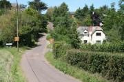 Colebrooke Village 30mph slow