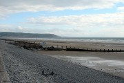 Looking south from Borth Sands