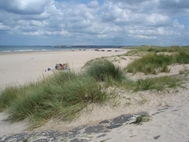 Castlerock beach looking towards Portstewart