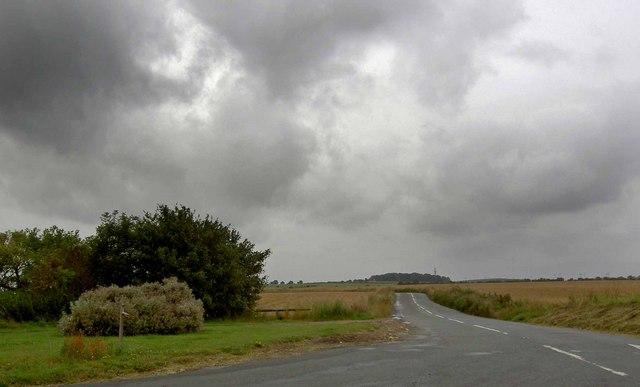 Leys Lane near Throapham