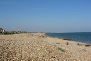 Beach at Pevensey Bay, East Sussex