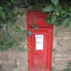 GR postbox, Cut Throat Lane