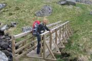 New bridge on the Cateran Trail