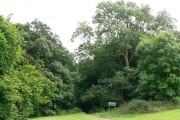 Access to Budshead Woods at Ernesettle, Plymouth.
