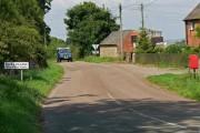 Approaching Calke village