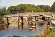 The two bridges at Postbridge