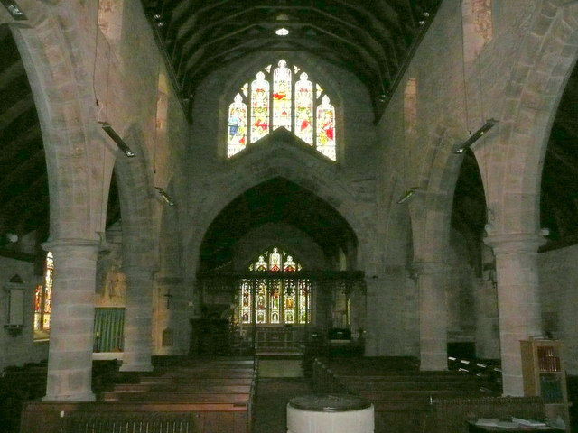 St. Michael and All Angels' church interior, Eaton Bishop