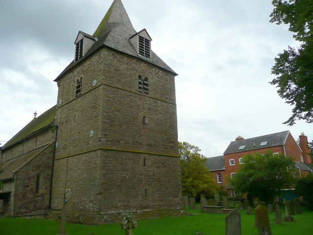 St. Michael and All Angels' church tower, Eaton Bishop