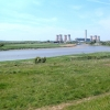 The Mersey and Fiddler's Ferry Power Station