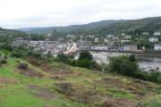 Tarbert: view over village