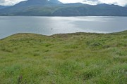 Rough ground above the Sound of Sleat