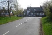 Main road junction at Church Lench - 1
