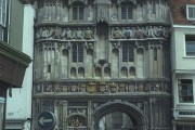 Christ Church gate, Canterbury Cathedral