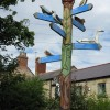 Signpost at Old Moor