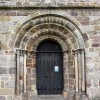 St Mary's Church, Kirkby Lonsdale, Cumbria - West doorway
