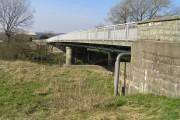 River Severn,Leighton road bridge.