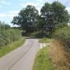 Minor junction between Barham and Henley