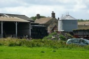 Close-up of Kidfield House Farm