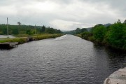 View east from Lock 9, Crinan Canal