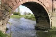 River Severn,Llandrinio  road bridge