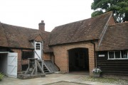 The Old Bakehouse and Granary at Jane Austen's house, Chawton