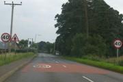 Entering North Craigo from the north