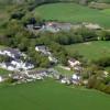 Aerial Photograph of Castle Morris