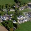 Aerial view of Castle Morris