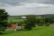 Clynelish Distillery in the distance