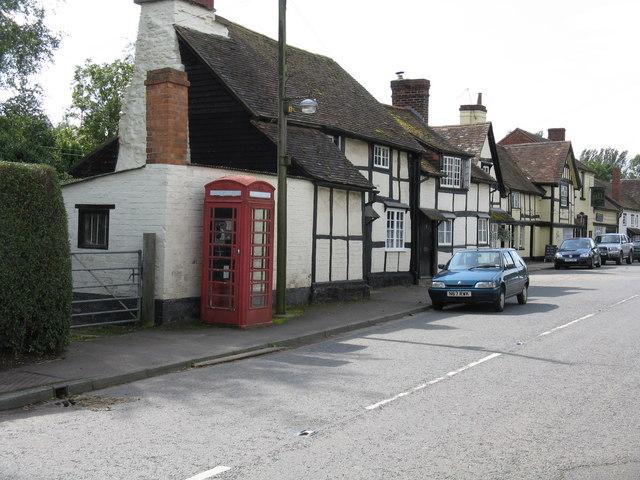 Bosbury's Telephone Box