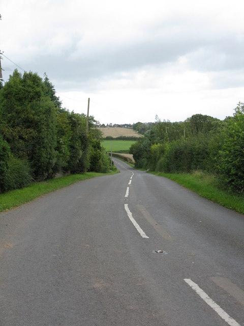 B4214 descending Stanley Hill