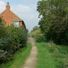 Cottage along the Grantham Canal