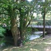 Bridge over the River Bourne in Chertsey
