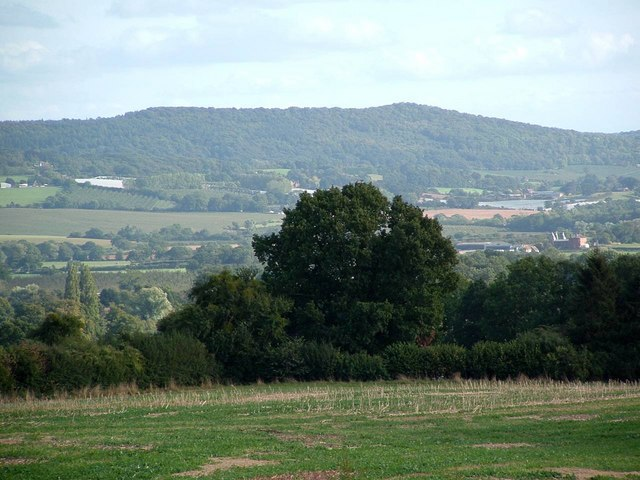 The Malvern Hills from Hill Farm, Castle Frome