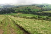 From Whitley Nab towards Glossop