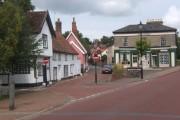 Village scene, Botesdale