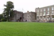 Torre Abbey south front and gatehouse