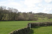 Fields beside the Peasey Beck