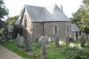 The parish church of St Stephen Treleigh