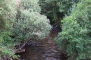 The Rhondda river at Ynyswen