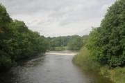 River Wharfe & Weir from Bridgefoot