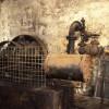 Steam engine, Dalmore Distillery.