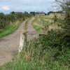 Farm track along Harby Lane