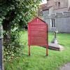 St Nicholas, Fyfield, Essex - Notice board