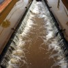 Water Overflow at Lock 57 at Hassall Green
