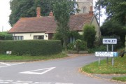 The start of Church Lane, Henley